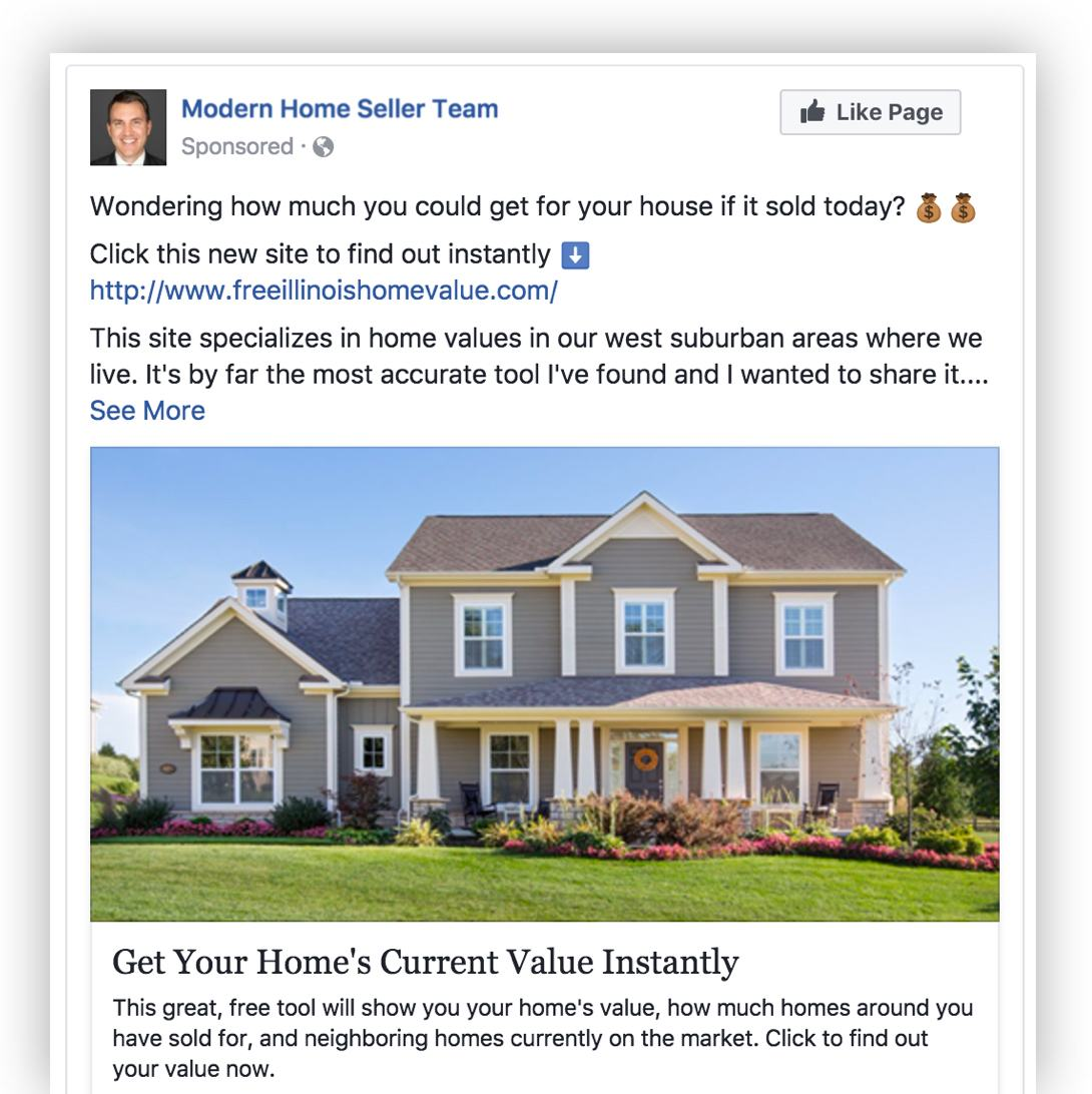 facebook advertising realtor